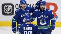 Dvojčata Daniel a Henrik Sedinovi končí po 18 letech kariéru v NHL. Švédští hokejoví bratři ji celou strávili ve Vancouveru Canucks.