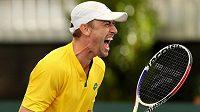 Australský tenista John Millman.