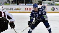 Hokejista Dynama Moskva Marek Kvapil