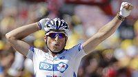 Vítěz 15. etapy Tour de France Pierrick Fédrigo