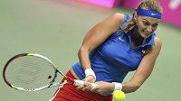 Petra Kvitová ve Fed Cupu.