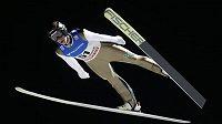Roman Koudelka při SP v Lillehammeru na středním můstku.