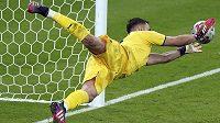 Italský brankář Gianluigi Donnarumma a jeho úspěšný penaltový zákrok během rozstřelu na EURO.