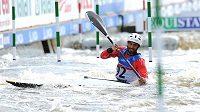 S nástrahami kvalifikace se pral i nepálský kajakář Raj Suworna Puri.