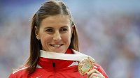 Zuzana Hejnová se zlatou medailí
