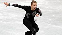 Michal Březina na NHK Trophy v Japonsku neoslnil.