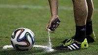 Rozhodčí se připravují na start mistrovství světa v Brazílii.