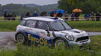 Václav Pech a Petr Uhel při Rallye Český Krumlov