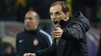 Naštvaný trenér Dortmundu Thomas Tuchel.