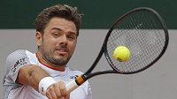 Švýcar Stan Wawrinka na French Open.