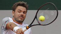 Švýcar Stan Wawrinka na French Open.