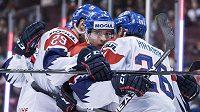 Radost českých hokejistů – bude i po zápase s USA?