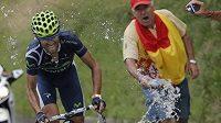 Španělský cyklista Alejandro Valverde patří k favoritům Vuelty.