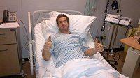 Britský tenista Andy Murray se zotavuje po operaci zad.