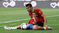 Milan Baroš trénoval na Maďary se synem