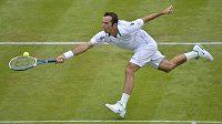 Radek Štěpánek na letošním Wimbledonu