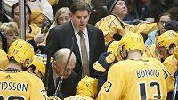 Peter Laviolette už není trenérem hokejistů Nashvillu.