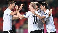 Německá radost po prvním góle.