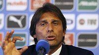Nový kouč Itálie Antonio Conte.