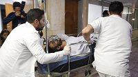 Brazilský obránce Alan Ruschel v intenzívní péči lékařů po hospitaliazci v kolumbijské nemocnici v La Ceja.