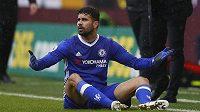 Útočník Chelsea Diego Costa nevěří, že Chelsea remizovala na půdě Burnley v utkání Premier League.