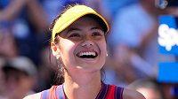 Emma Raducanuová senzačně prošla na US Open z kvalifikace do semifinále.
