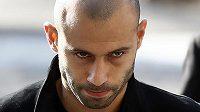 Argentinec ve službách Barcelony Javier Mascherano krátce po verdiktu soudu.