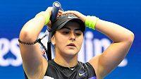 Devatenáctiletá Bianca Andreescuová přehrála ve finále tenisového US Open 6:3, 7:5 Serenu Williamsovou z USA.