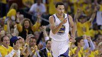 Stephen Curry z Golden State Warriors.