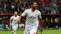 Španělé se dočkali. Se štěstím skóre proti Íránu otevřel Diego Costa.