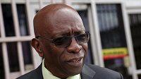 Jack Warner z Trinidadu a Tobaga, jeden z mužů, kterého se týká aféra FIFA.