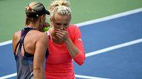 České tenistky Lucie Hradecká s Kateřinou Siniakovou si zahrají finále čtyřhry na US Open.