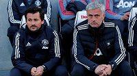 Dlouholetý Mourinhův (vpravo) asistent Rui Faria (vlevo) půjde vlastní trenérskou cestou.