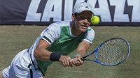 Tomáš Berdych dohrál na turnaji ve Stuttgartu ve čtvrtfinále.