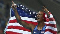 Američan, Ashton Eaton, vítěz olympijského desetiboje.