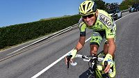 Roman Kreuziger na Tour de France.