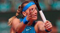 Petra Kvitová na letošním French Open.