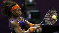 Serena Williamsová postoupila v Dauhá do finále.