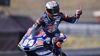 Český závodník Jakub Kornfeil poprvé v kariéře vyhrál kvalifikaci v závodě MS a do domácí Velké ceny v Brně ve třídě Moto3 odstartuje z pole position.