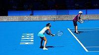 Adam Pavlásek a Lucie Šafářové slaví na Hopmanově poháru druhé vítězství. V Perthu zdolali Itálii.