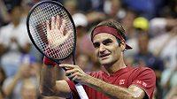 Legendární švýcarský tenista šokoval novináře, pak vysvětloval, že jen žertoval.
