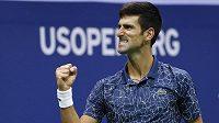 Novak Djokovič slaví zasloužený triumf
