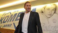 Trenér hokejistů Komety Brno Alois Hadamczik před začátkem extraligové sezóny.