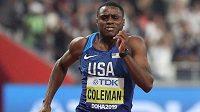 Americký expres Christian Coleman si běží v Dauhá pro titul mistra světa na stovce.