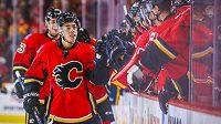 Hokejisté Calgary - ilustrační foto.