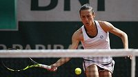 Italka Francesca Schiavoneová při French Open 2018.