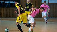 Zápas druholigové futsalové ligy mezi Mladou Boleslví a Turnovem se nedohrál.