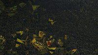 Fanoušci Borussie Dortmund.