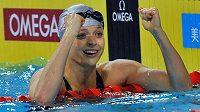 Plavkyně Simona Baumrtová prožívá fantastický rok - na světovém šampionátu v Turecku získala bronz.