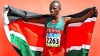 Sammy Wanjiru. Odstartoval keňskou nadvládu na maratónské distanci.